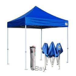 8x8 Imperméable Pliante Party Canopy Tente Ombre Gazebo Extérieur Sport Tente Abri