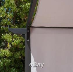 9,5 X 9,5 Pi. Acier Patio Gazebo Couverture De Jardin De Luxe Terrasse Sur Le Toit Jardin D'extérieur