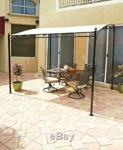 Acier Pare-soleil Auvent Gazebo Auvent Patio Extérieur Jardin De La Piscine Balcon Terrasse Couverte