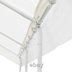 Aleko Heavy Duty Gazebo Extérieur Auvent Tente Avec Parois Couleur Blanc
