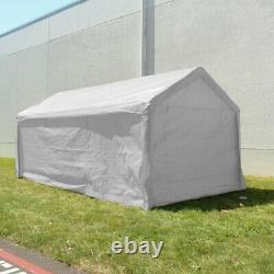 Aleko Heavy Duty Outdoor Gazebo Canopy Tent With Sidewalls White Color