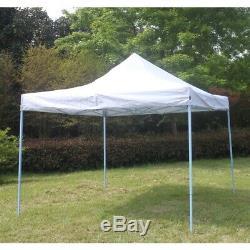 Aleko Party Canopy Portable Tente Étanche 10x10ft Gazebo 420d Lumière Blue Frame