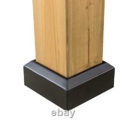 Archwood 11 Ft. X 13 Ft. Cedar Cadre Gazebo Avec Plateau Rigide En Acier