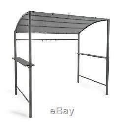 Barbecue Canopy Gazebo Bbq Abri Extérieur Patio Tente Avec Cadre En Acier