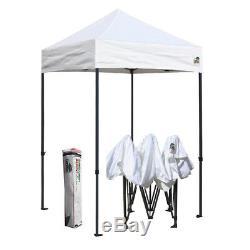 Blanc Ez Pop Up Canopy Sport Pliant Gazebo Événement Tente Shelter Camping Instant