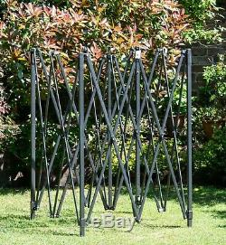 Bulhawk 3x3m Quantum 30 Robuste Pop Up Jardin Gazebo Soleil Armatur