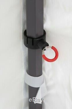 Bulhawk Premium De 40mm Robuste Commercial Grade Pop Up Gazebo Marquise