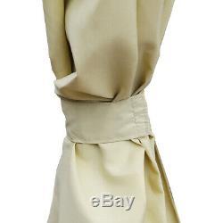 Charles Bentley Gazebo Beige Faite En Polyester Et 3m X 4 M