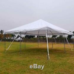 Événement Party Cadre Tente Canopy 20x20' Weekender Pe Gazebo Économie Résistant À L'eau