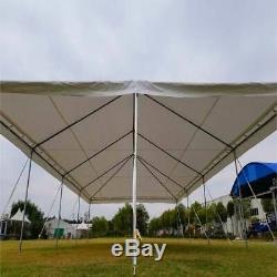 Événement Party Cadre Tente Canopy 20x40' Weekender Pe Gazebo Économie Résistant À L'eau