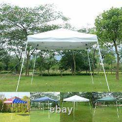 Ez Pop Up Canopy Wedding Party Tente Extérieure Pliage Patio Gazebo Shade Shelter