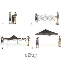 Gazebo Canopy Pop Up Beach Camping Kiosques Extérieur Auvents 10x10 Heavy Duty