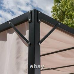 Gazebos 10x10 Pour Patios Extérieurs Balda Pergola Backyard Gazebo Cadre Métallique Nouveau