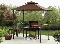 Grill Bbq Gazebo Canopy Extérieur Sun Shade Patio Cour Arrière Kiosques Sunjoy Meilleur Big
