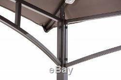 Grill Bbq Gazebo Canopy Extérieur Sun Shade Patio Cour Arrière Portable Kiosques Sunjoy