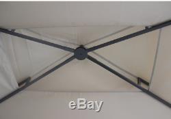 Grill Gazebo Bbq Canopy Ombre Auvent Cover Air Vent Fireproof Patio Extérieur Nouveau