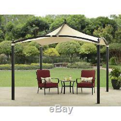 Heavy Duty Gazebo Extérieur Pergola 10' X 10' Cadre En Acier Jardin Patio Sun Shelter