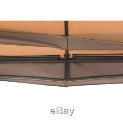 Heavy Duty Steel Patio Gazebo 12x10 Pi. Avec Pergola, Canopy Toit, Cadre En Métal