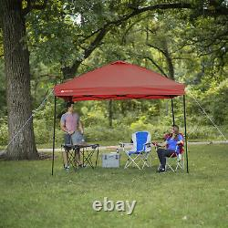 Heavy Duty Straight Leg Tente Instant Tailgate Canopy Shade Outdoor Event Party