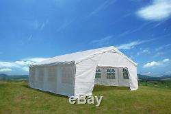 Heavy Duty Tente 20x26 Abri Extérieur De Mariage Parties Canopy Noël Avec Side