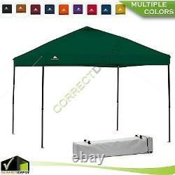 Instantané Canopée Gazebo Pop Up Tente Extérieur Tailgate Sun Shelter Bbq Party 10'x10'