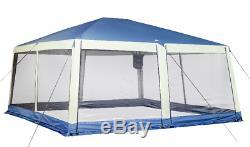 Instantanée Gran Gazebo Outdoor Canopy XL 20x20 Pieds Avec Écran Anti Moustiquaire