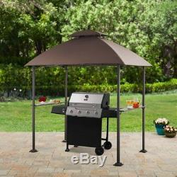 Ledger 7.8w X Piliers 4.9d Pi. Outdoor Canopy Top Grill Gazebo W