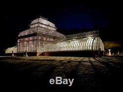 Monumental Domaine Hand Made Personnalisé Fer Gazebo, Solarium, Greenhouse # Lc1