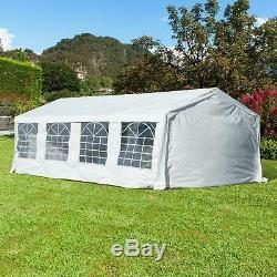 New Heavy Duty 8x4m Chapiteau Tente Étanche Garden Party De Mariage Gazebo Canopy
