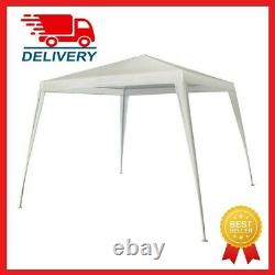 Nouveau 8' X 8' Canopy Pour Outdoor Nclude Gazebo Frame & Cover, Stakes & Tie Ropes