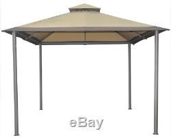 Outdoor Gazebo Savvi 10 X 10 Pieds Cadre En Acier Canopy Jardin Patio Cour Sun Shelter