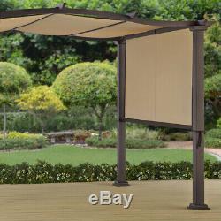 Outdoor Heavy Duty Gazebo 10 X 12 Cadre Pergola Jardin Patio Sun Shelter