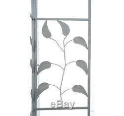 Outsunny 10'x10' Extérieur Patio Gazebo Stand Cadre En Acier Canopy Couverture De Conception De Feuille