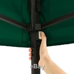 Ozark Trail 10' X 10' Instantané Jambe Droite Canopy Robuste En Polyester Durable