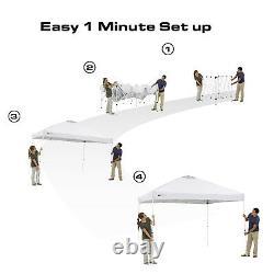 Ozark Trail Instant Canopy Tent 10 X 10 Ft Square Pop Up Abri Extérieur