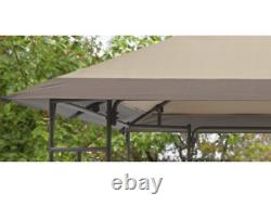 Patio Gazebo Yard Et Mobilier De Jardin Canopy Shelter Sun Shade Cadre En Acier Nouveau