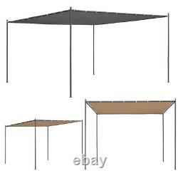 Pavillon De Patio Extérieur De Gazebo Avec Cadre En Acier De Toit Canopy Shelter Shade Pergol