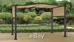 Pergola En Acier Extérieur 12' X 10' Abri Patio Pare-soleil Better Homes And Gardens