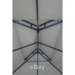 Projeté Canopy Tente Cour Arrière Gazebo 12 X 10 Meubles Patio Pergola Cadre En Acier