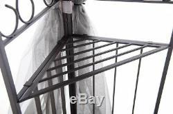 Sunjoy 10 X 12 Gazebo Avec Tente Netting Extérieur À Baldaquin Patio Ombre Mariage Jardin