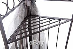 Sunjoy 10' X 12' Monterey Gazebo Avec Nettinggray Avec Black
