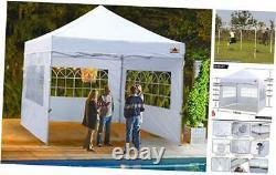 Tente De Canopée Extérieure Abccanopy 10x10 Gazebo Pop Up Stylo De Fête Mariage Instantané Elle