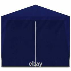Tente De Fête 10'x13' Blue Outdoor Garden Mariage Patio Gazebo Canopy Tents Bleu