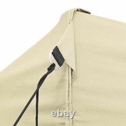 Tente Pliable Popup 3x4.5 M Blanc Crème Aucun Mur Parti Marquee