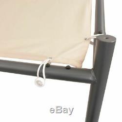 Vidaxl Garden Gazebo 13' 1x13' 1 Beige Patio Tente D'extérieur Pavillon Canopy