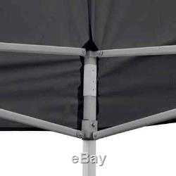 Vidaxl Pliant Pop-up Tente Avec Parois De Anthracite Canopy