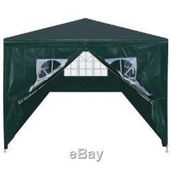 Vidaxl Tente 118.1x354.3 Extérieur Auvents Pavillon Anthracite / Vert