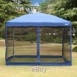 Vivohome 210d Patio Extérieur Gazebo Instantané Pop-up Canopy De Soirée De Mariage Tente Mesh
